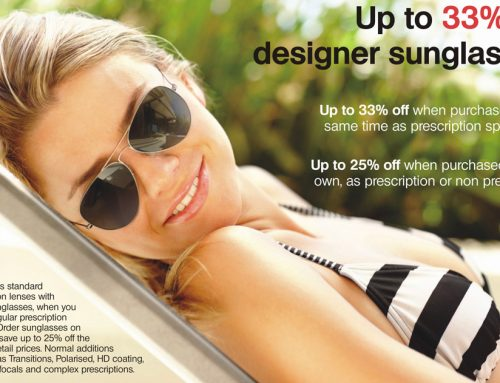 Up to 33% Off Designer Sunglasses